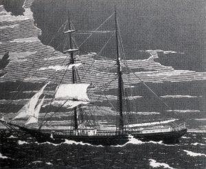 Incisione della Mary Celeste